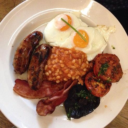 English Breakfast Eggs