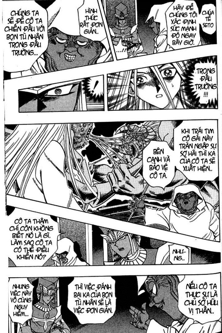 YUGI-OH! chap 310 - rồng trắng mắt xanh xuất hiện trang 5