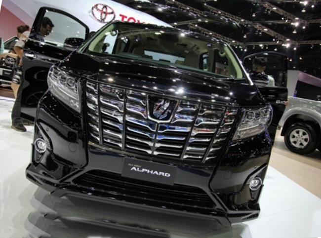 2018 Toyota Alphard Release Date And Review Auto Toyota