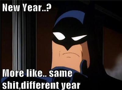 funny cartton happy new year memes
