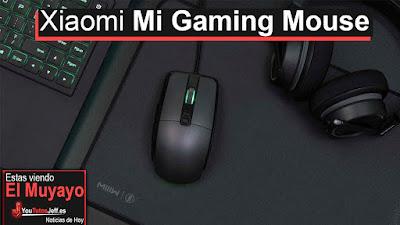 el primer raton gaming de xioami, llamado Xioami mi gaming mouse con un precio bastante aceptable a su calidad