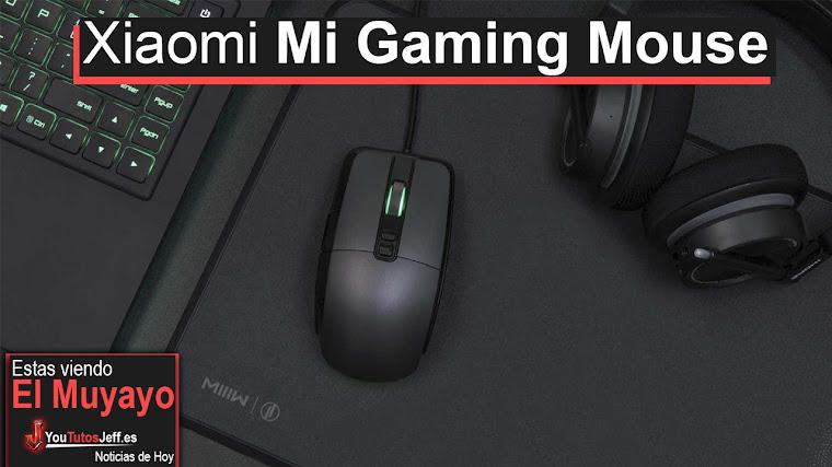 Xiaomi Mi Gaming Mouse Características - El primer Ratón Gaming de Xiaomi