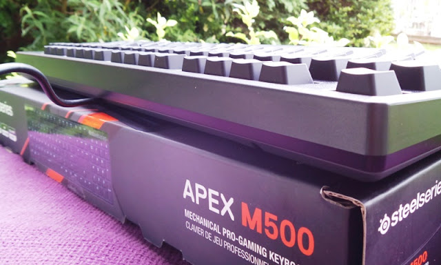 Steelseries Apex M500 Nkro Gaming Keyboard Amongst Cherry Mx Blood-Red Switches!