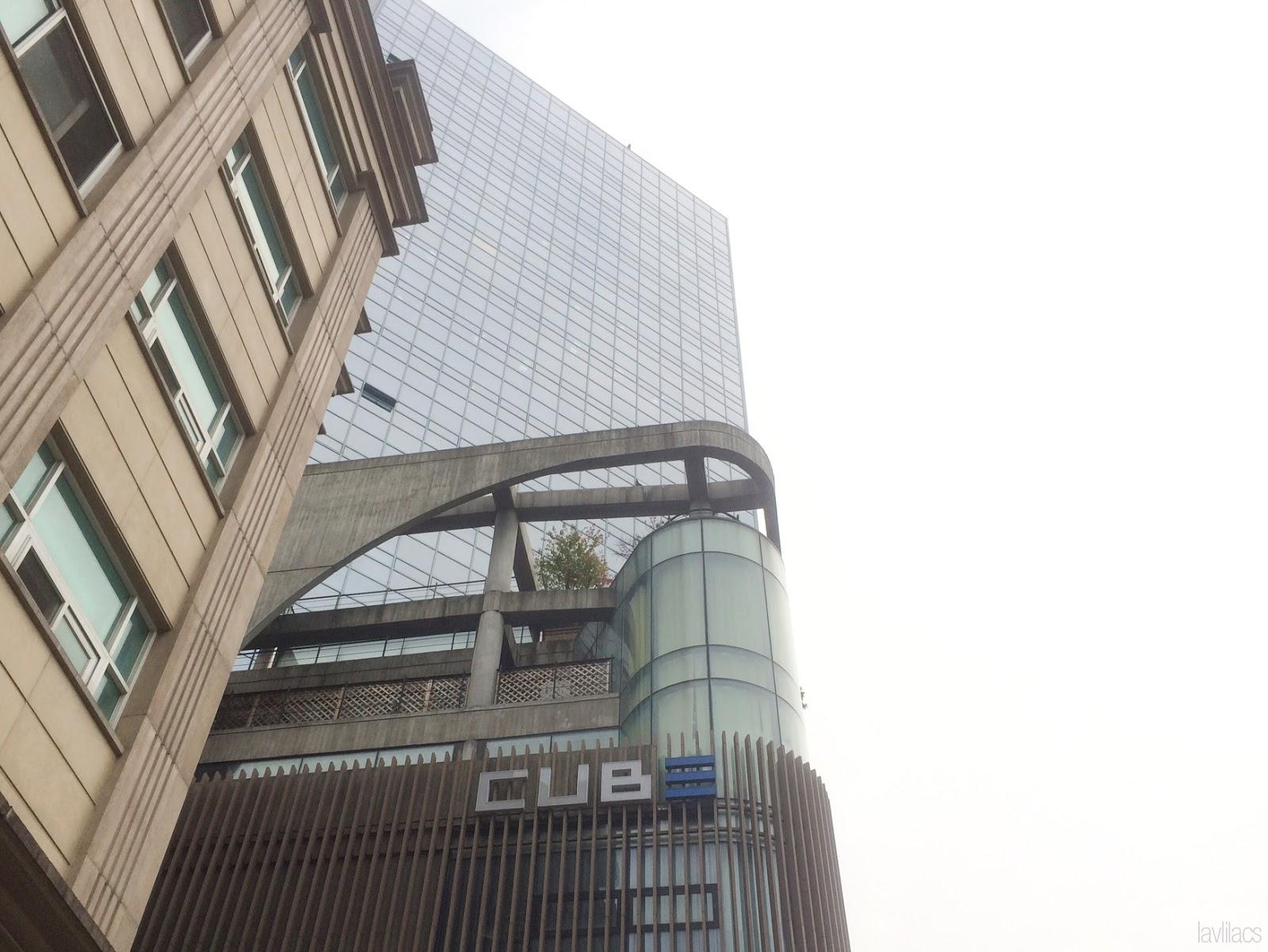 Seoul, Korea - Summer Study Abroad 2014 - Cube Entertainment building