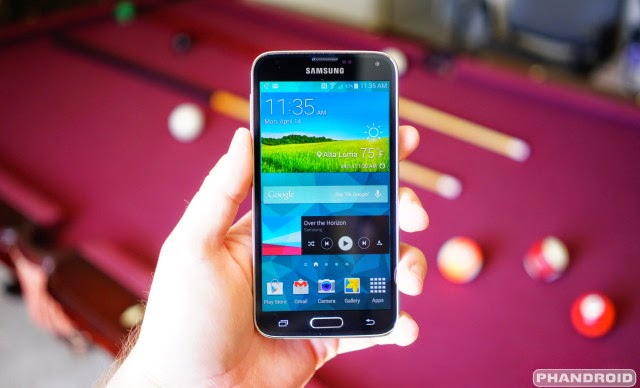 Hidden features of Samsung Galaxy S5 Mobile