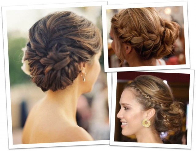 Wedding Hairstyles With Braids: Fashion & Make Up: Wedding Hairstyles 2013