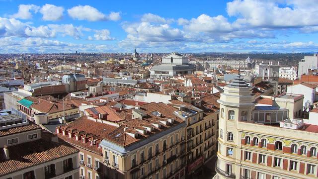 Resultado de imagen de blogspot, Madrid vista aerea