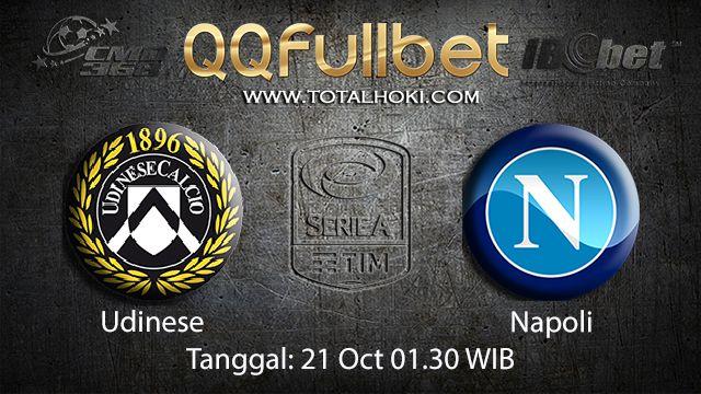 Prediksi Bola Jitu Udinese vs Napoli 21 October 2018 ( Italian Serie A )