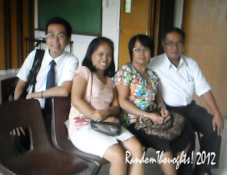 Camporazo family at Sunday Service