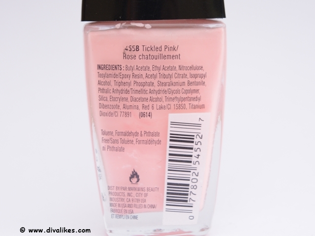 Wet n Wild Wild Shine Nail Color Tickled Pink Review | Diva Likes