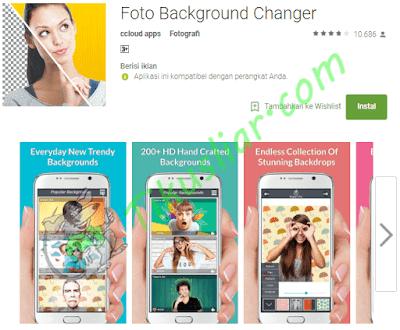 Aplikasi konverter gambar latar belakang untuk android