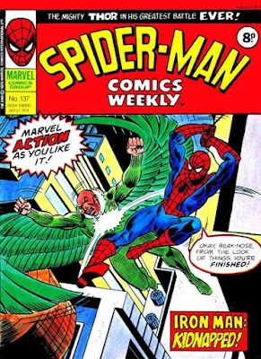 Spider-Man Comics Weekly #137, the Vulture