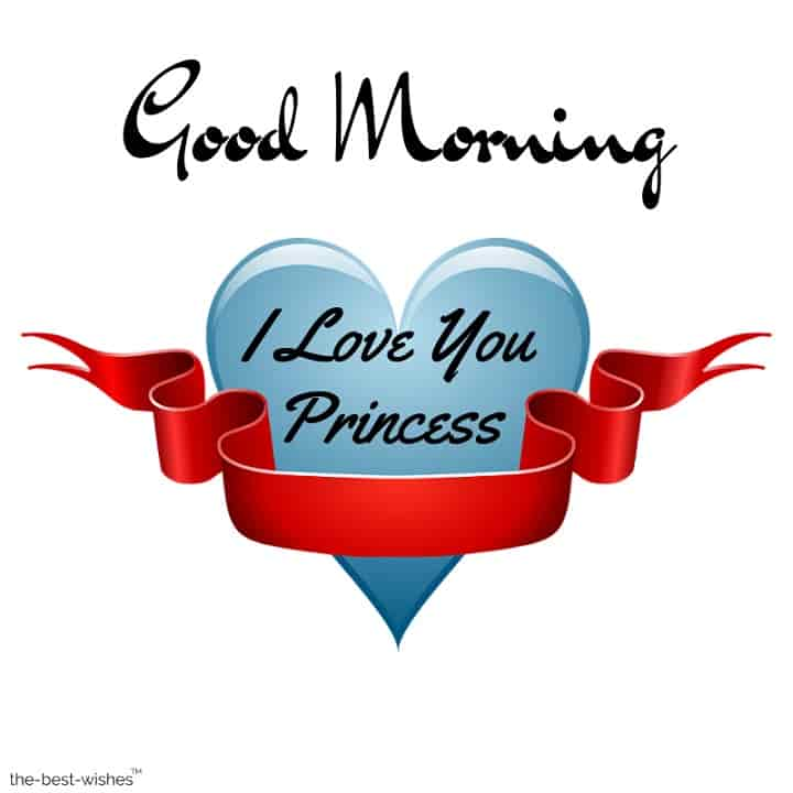 good morning princess wife