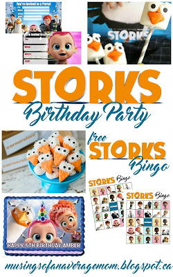 Storks Birthday Party