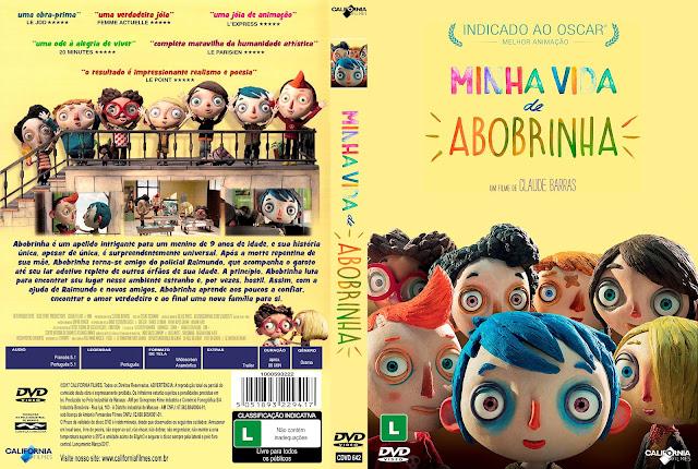 Capa DVD Minha Vida de Abobrinha [Custom]