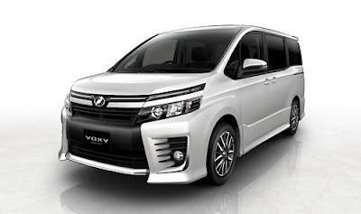 Spesfikasi Toyota Voxy