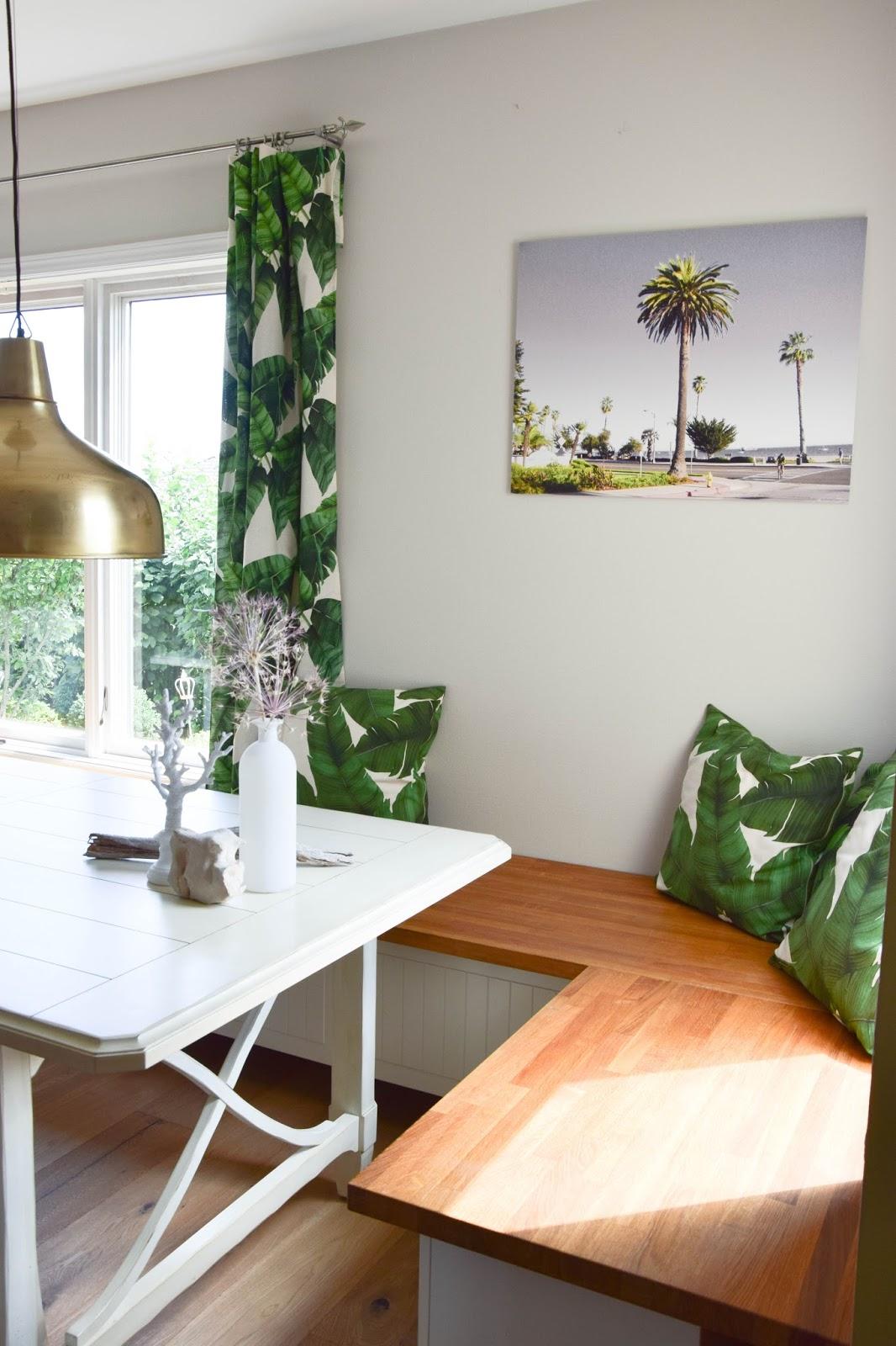 Wanddeko Für Das Esszimmer: Sommer, Palmen Und Tropical Feeling   Santa  Barbara