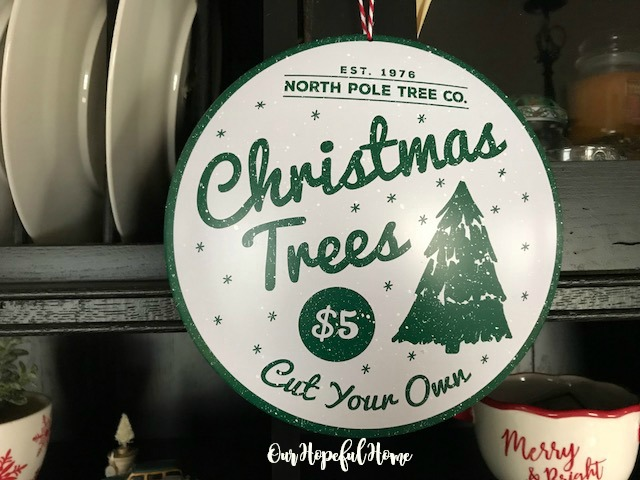 North Pole Tree Company Christmas Trees $5 Target ornament