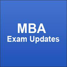 MBA Exam Calendar