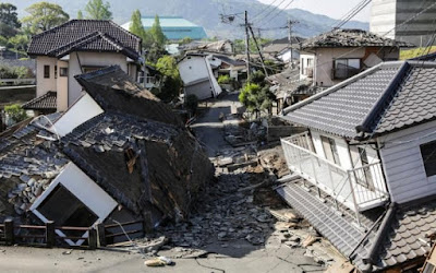 2016 Kumamoto Earthquakes in Japan