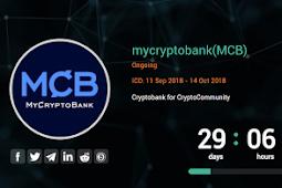 MyCryptoBank (MCB) - Cryptobank for Cryptocommunity