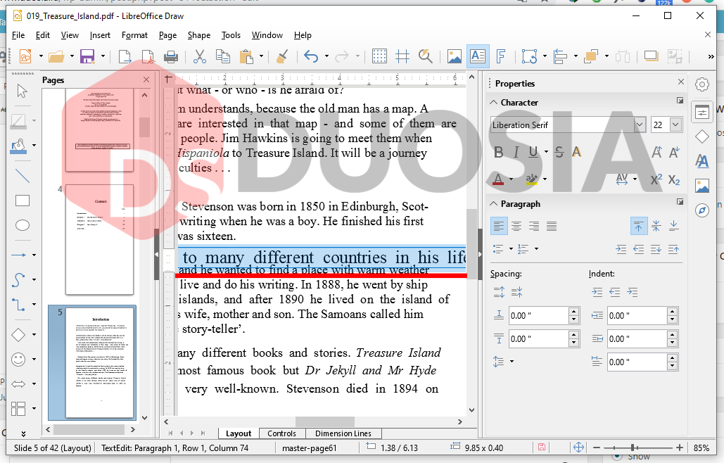 edit pdf offline
