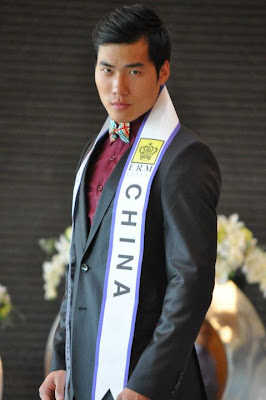 Mr. China Chen JianFeng, Manhunt International 2011 winner