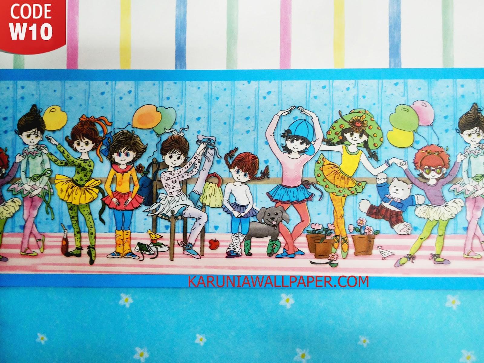 karunia wallpaper jual dekorasi dinding kamar anak surabaya