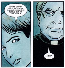"AMERICAN JESUS"" de Mark Milar y Peter Gross. Edita Panini Comics curas Dios"