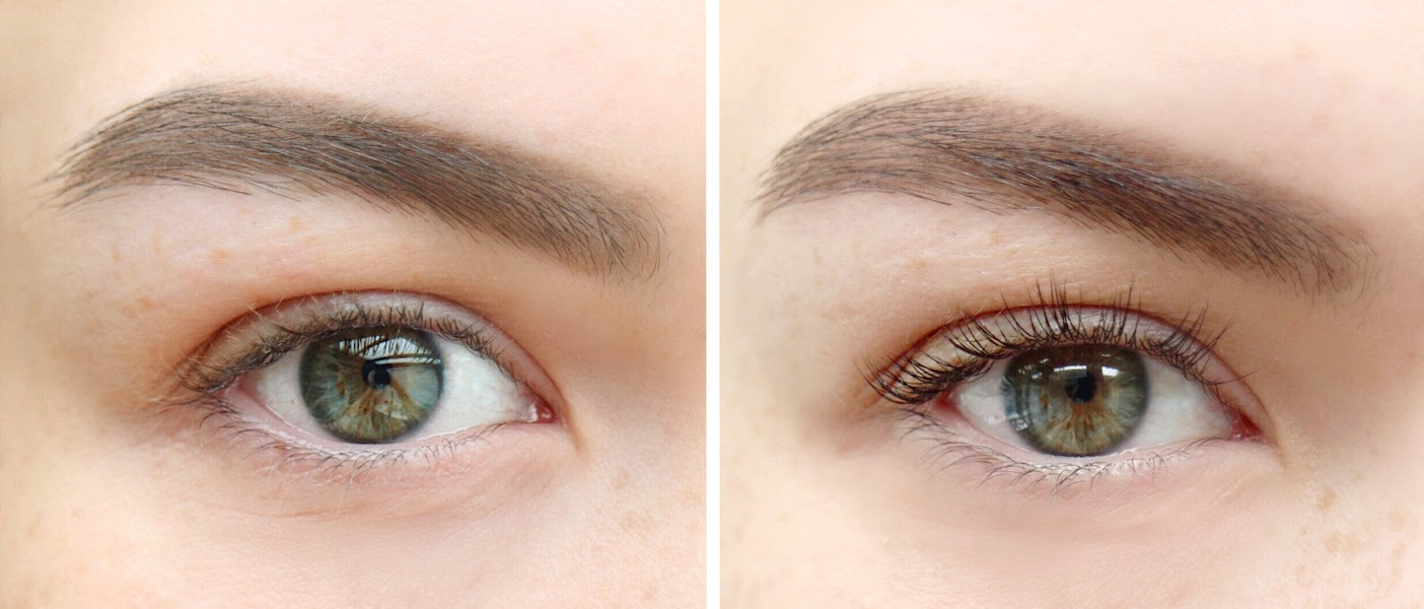 lvl lashes: before and after