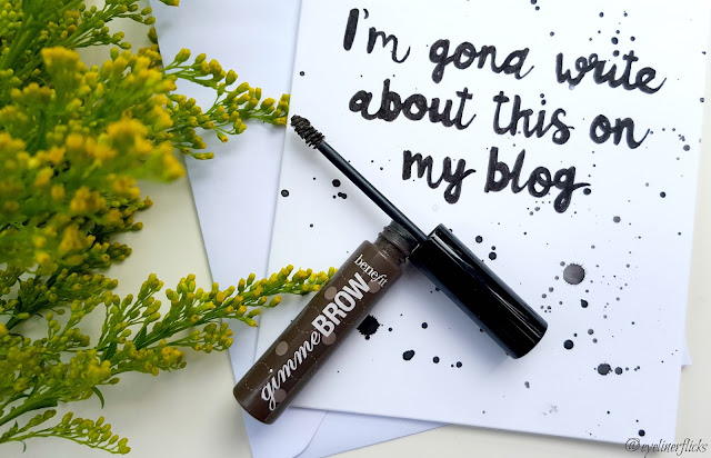 BENEFIT GIMME BROW REVIEW eyelinerflicks.com blog review