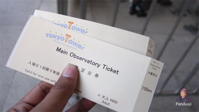 Tiket Tokyo Tower