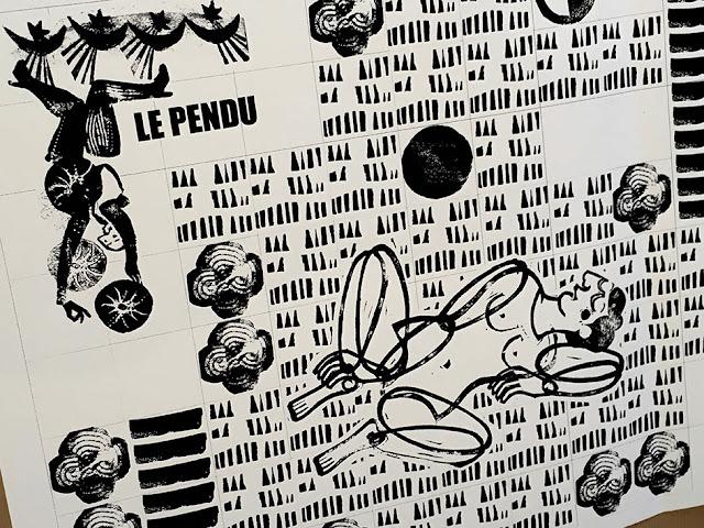 Brigitte Rio, Tarot, Arcanes, sérigraphie, brigitterio