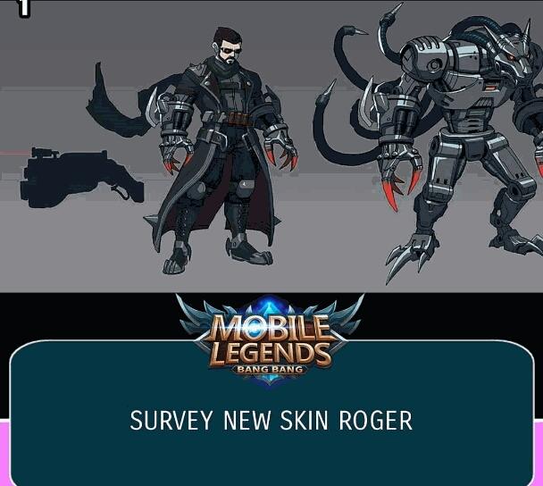 Mengejutkan, Inilah Penampilan Skin Terbaru Roger Mobile