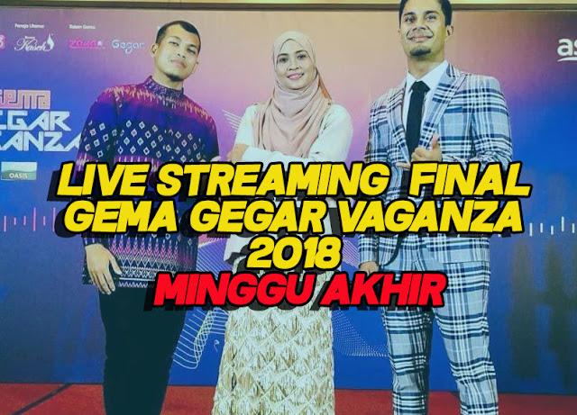 Live Streaming Final Gema Gegar Vaganza 2018 Minggu Akhir
