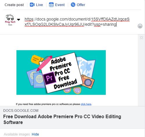 Blocked Website Link Share On Facebook