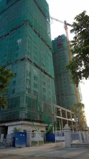 Cả 3 tòa tháp A B C của Gemek Premium được xây dựng đồng thời