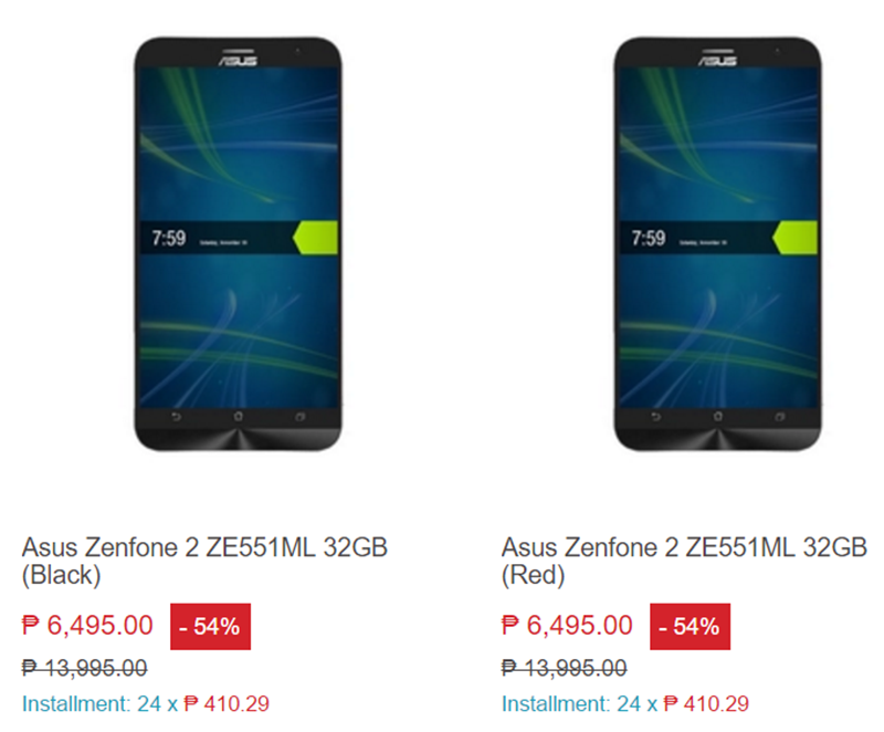 Asus ZenFone 2 With 32 GB ROM And 4 GB RAM Is On Sale At Lazada For PHP 6495!