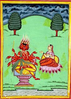 স্বাহা অগ্নিদেবী পরকাল, নরক, মাতৃত্ব, জীবন এবং বিবাহের দেবী