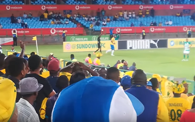 South African soccer team Mamelodi Sundowns produce some of the greatest time-wasting ever seen