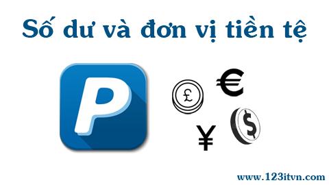 Paypal bổ sung thêm các đơn vị tiền tệ trong quản lý số dư