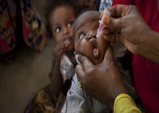 Religious sect members deny children polio vaccination