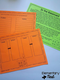 Halloween Fictional Comprehension- October Activities for a primary classroom- PLUS a freebie!