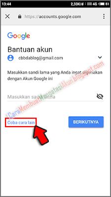 ganti sandi akun google