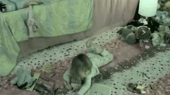Hantu Culik Budak, Tarik Masuk Bawah Katil
