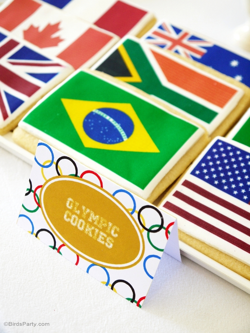Last Minute Olympic Party Ideas - BirdsParty.com