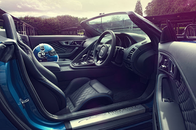 Jaguar Project 7 interior