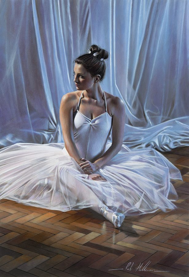 Rob Hefferan 1968 | British Figurative painter | It's Time To Dance