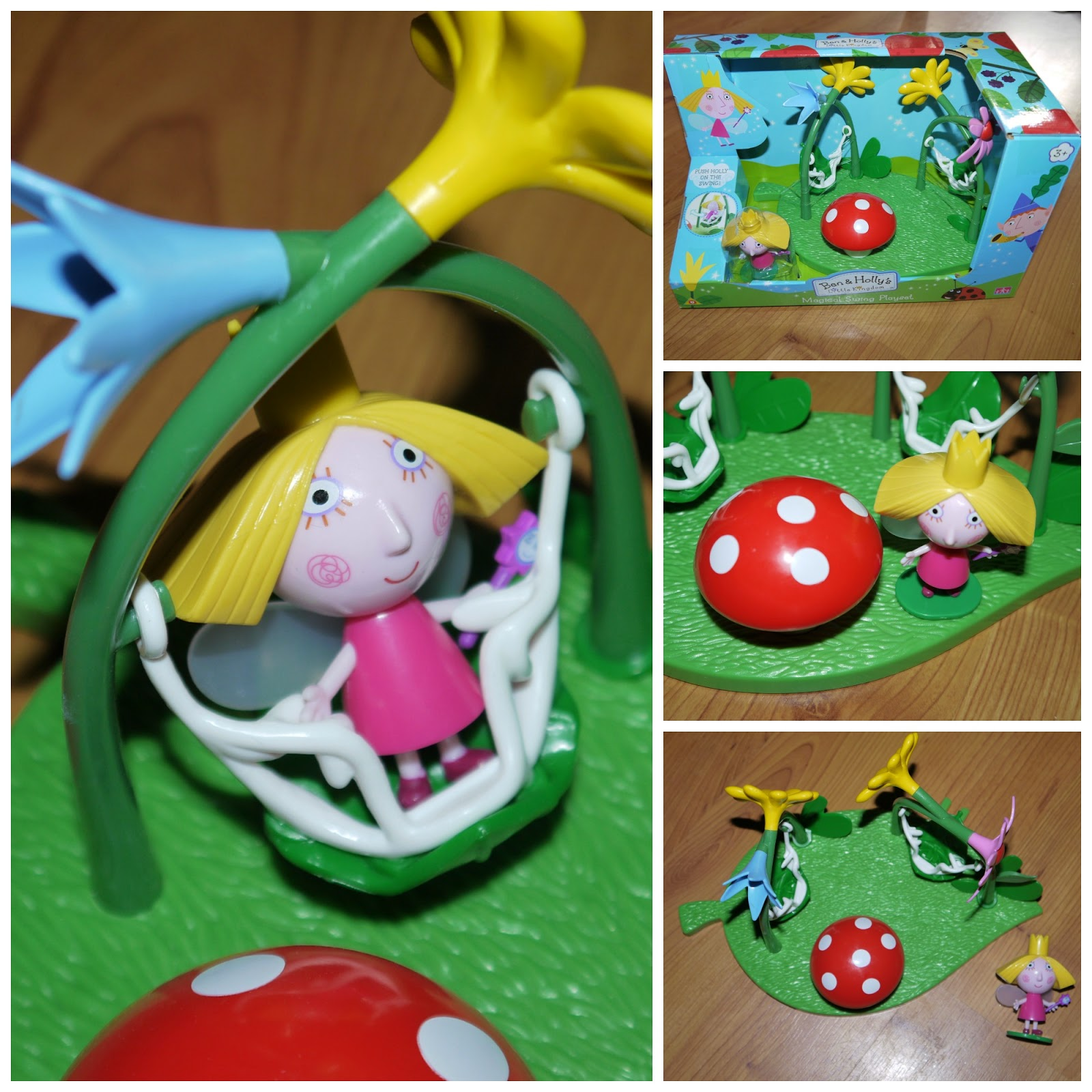 Nick jr, swings, Ben and Holly