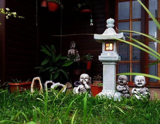jardim japones, jardim japonês, escultura de pedra